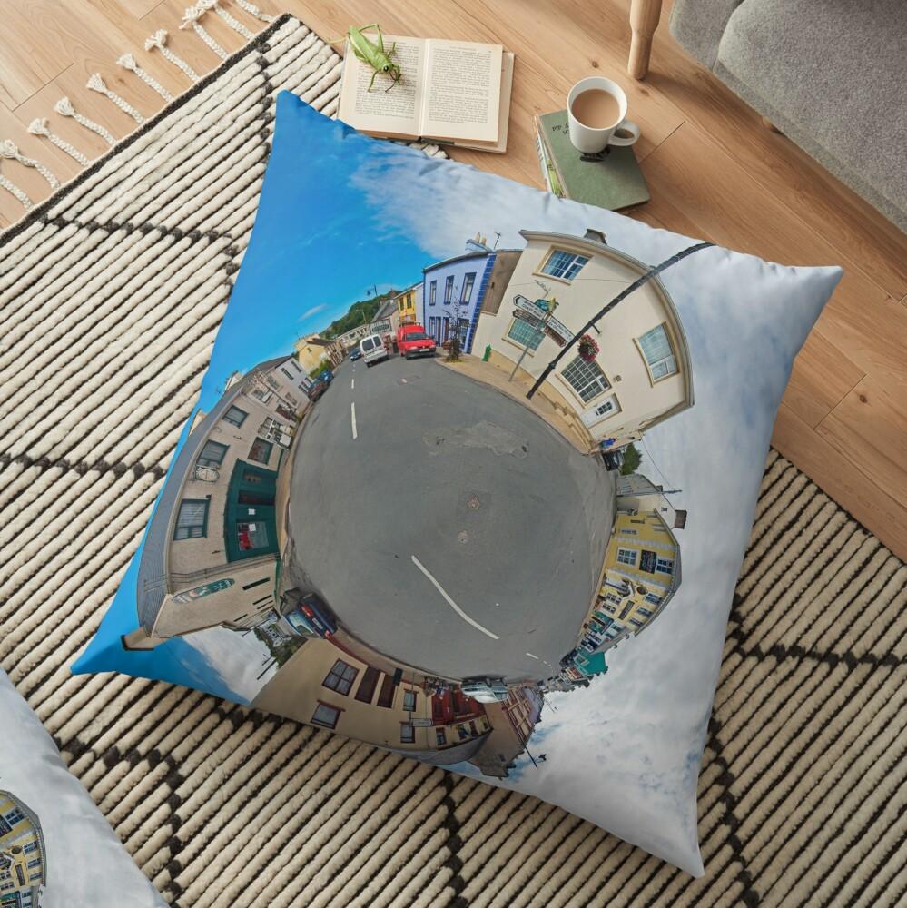 Kilcar Main Street - Sky Out Floor Pillow