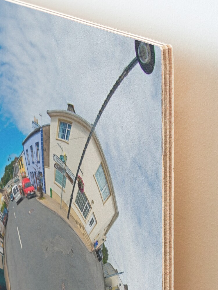 Alternate view of Kilcar Main Street - Sky Out Mounted Print