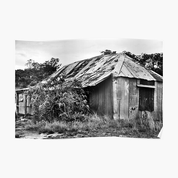 Old House on the Turon River NSW Australia Poster