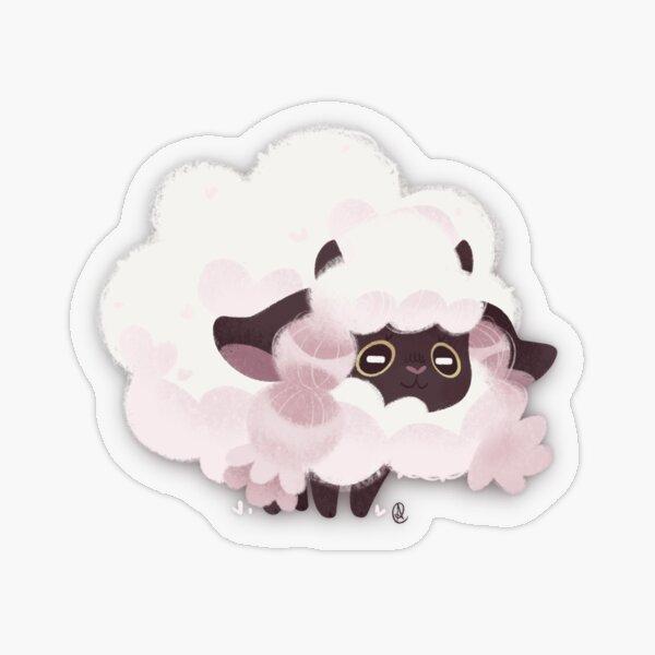 A Fluffy Friend Transparent Sticker