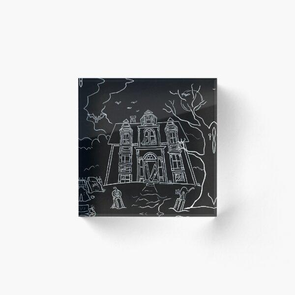 Lunenburg Haunted House Acrylic Block