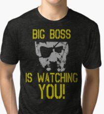 Big Boss Is Watching You! Tri-blend T-Shirt