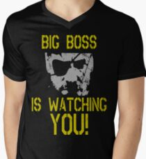 Big Boss Is Watching You! Men's V-Neck T-Shirt