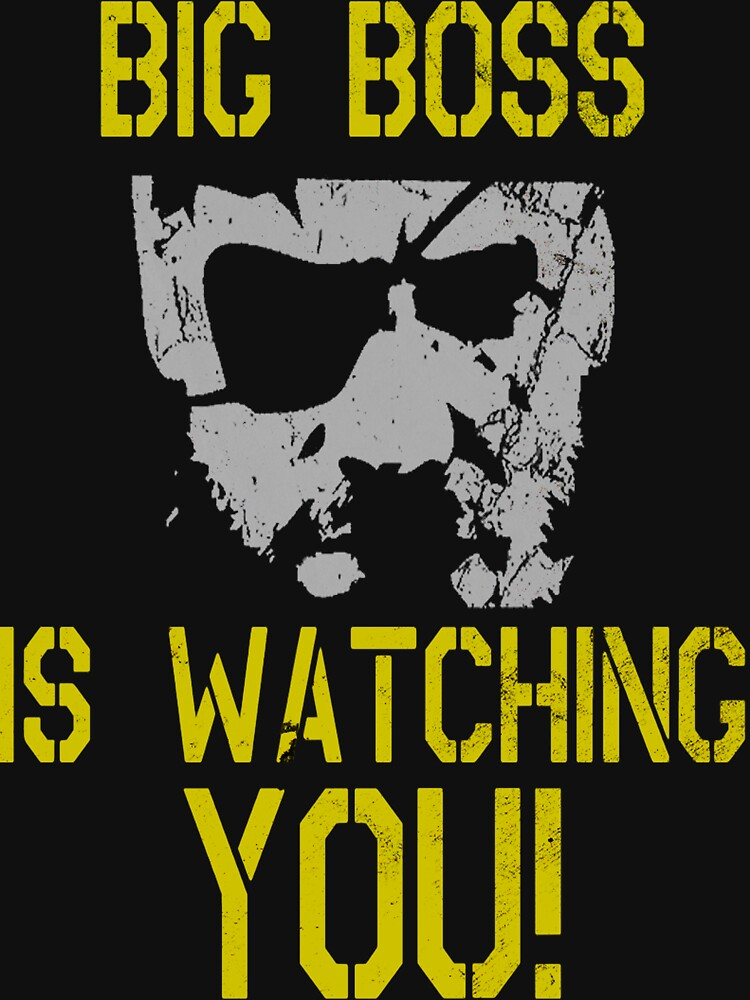 Big Boss Is Watching You! | V-Neck