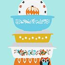 Halloween Pyrex by prouddaydreamer