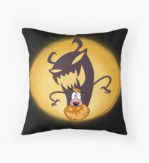 A Cowardly Halloween Floor Pillow