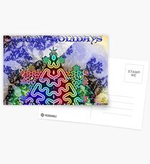 Happy Holidays Card Postcards