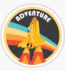 Adventure (Through Space And) Time Sticker