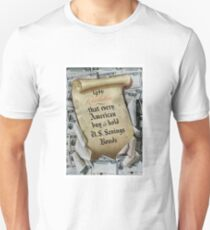 1946 Resolution - That every American buy and hold U.S. savings bonds Unisex T-Shirt