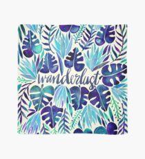 Tropical Wanderlust – Blue Scarf