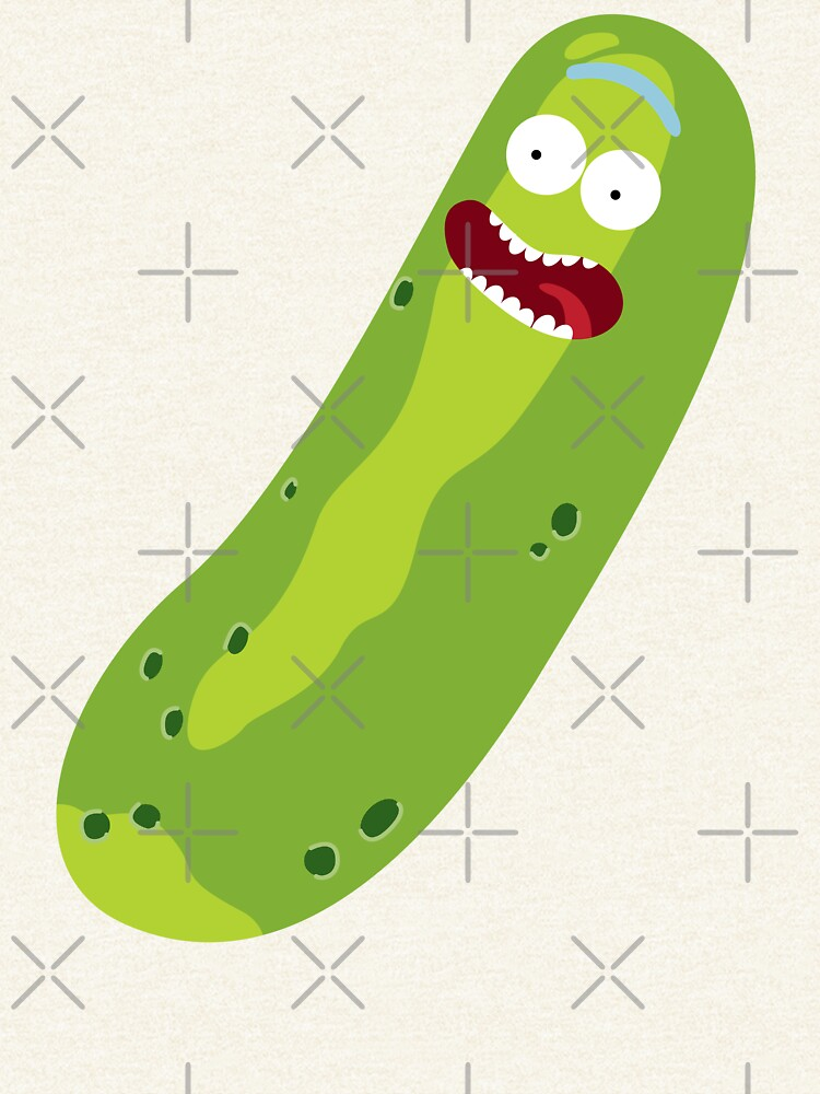 It's Pickle Rick! (Rick & Morty) by castl3t0ndesign