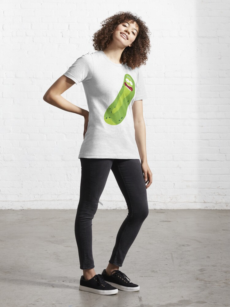 Alternate view of It's Pickle Rick! (Rick & Morty) Essential T-Shirt