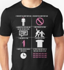 The Rules Of Fight Club Unisex T-Shirt