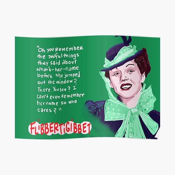Flibbertigibbet - Rosalind Russell Poster