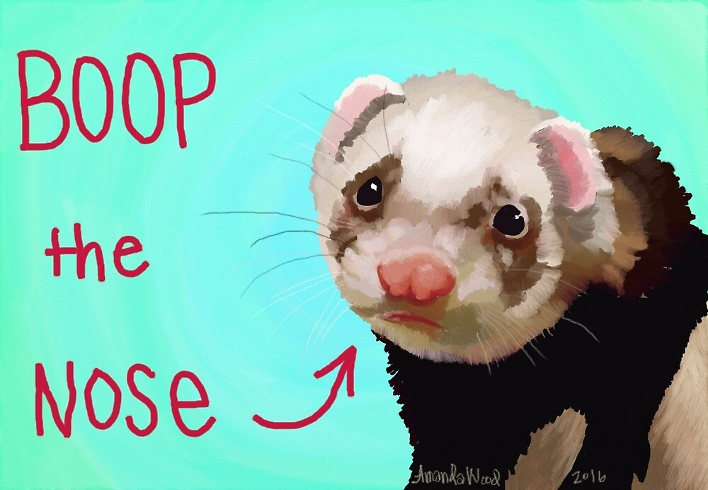 Ferret Boop by sneercampaign