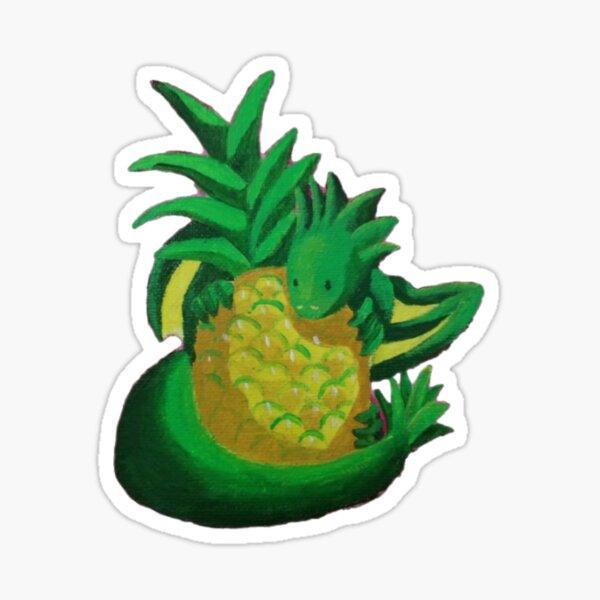 Pineapple Friend Sticker