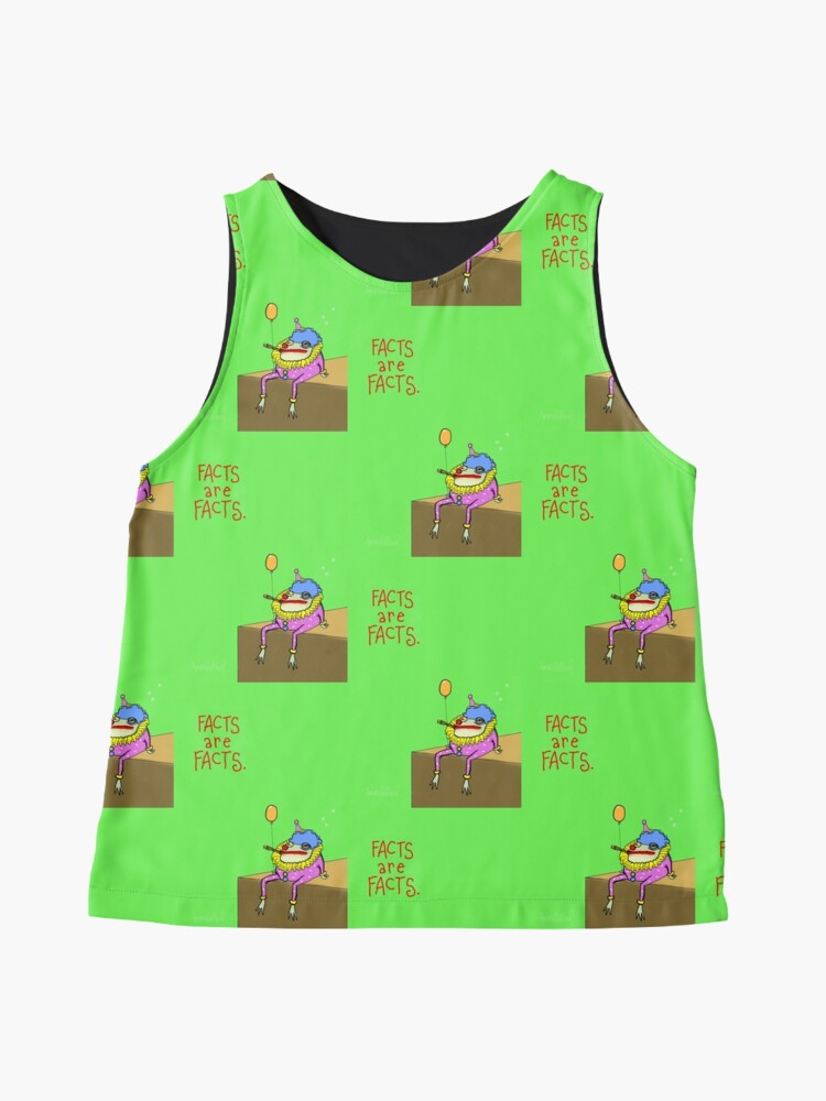 Alternate view of Facts Frog Sleeveless Top