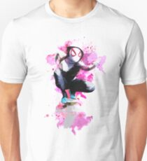 Spider-Gwen - Splatter Art T-Shirt