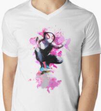 Spider-Gwen - Splatter Art T-Shirt