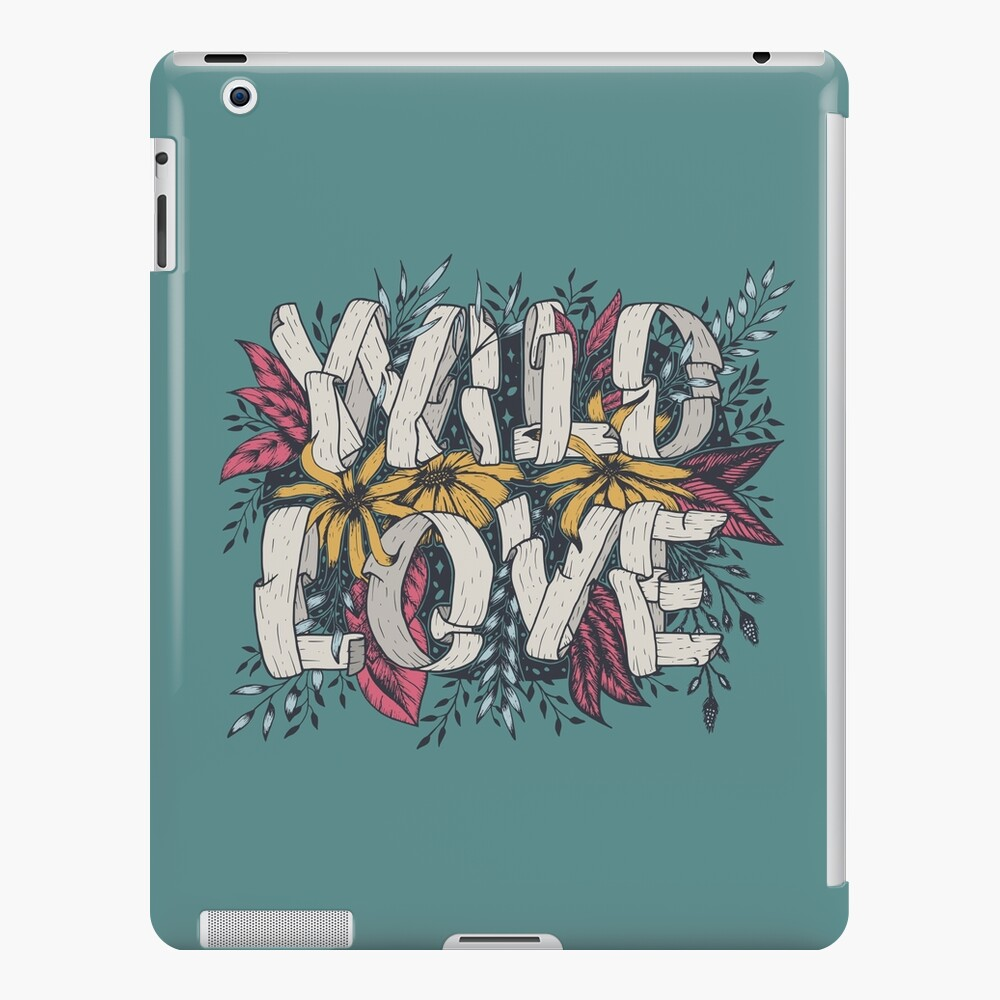Wild Love - Green iPad Case & Skin