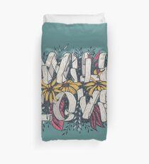 Wild Love - Green Duvet Cover