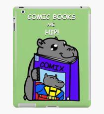 Comic Books are Hip! iPad Case/Skin