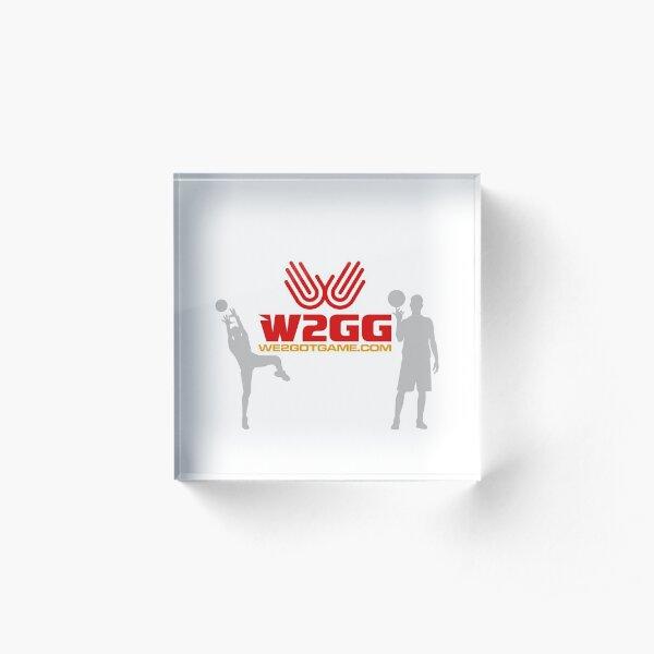 W2GG #001 Acrylic Block