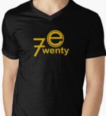 Camiseta de cuello en V Entretenimiento 720