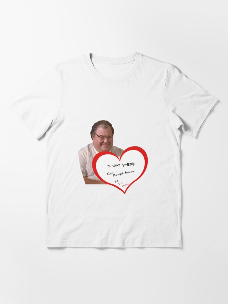 Alternate view of Billy Madison Principal Note Essential T-Shirt