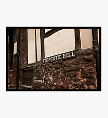 Stepcote Hill Photographic Print