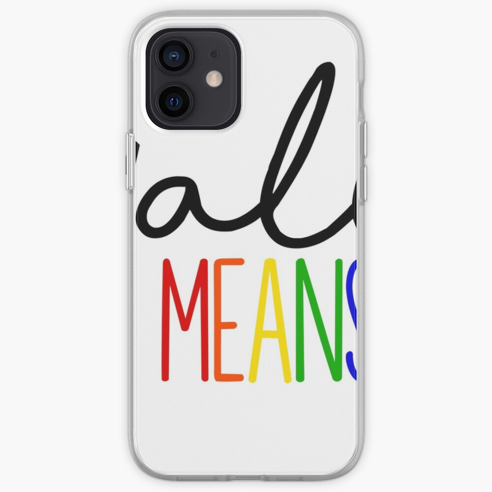Y'all Means all iPhone Case & Cover