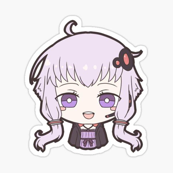 Vocaloid Yuzuki Yukari Sticker