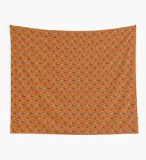 Bats, Cats, and Candy pattern Wall Tapestry