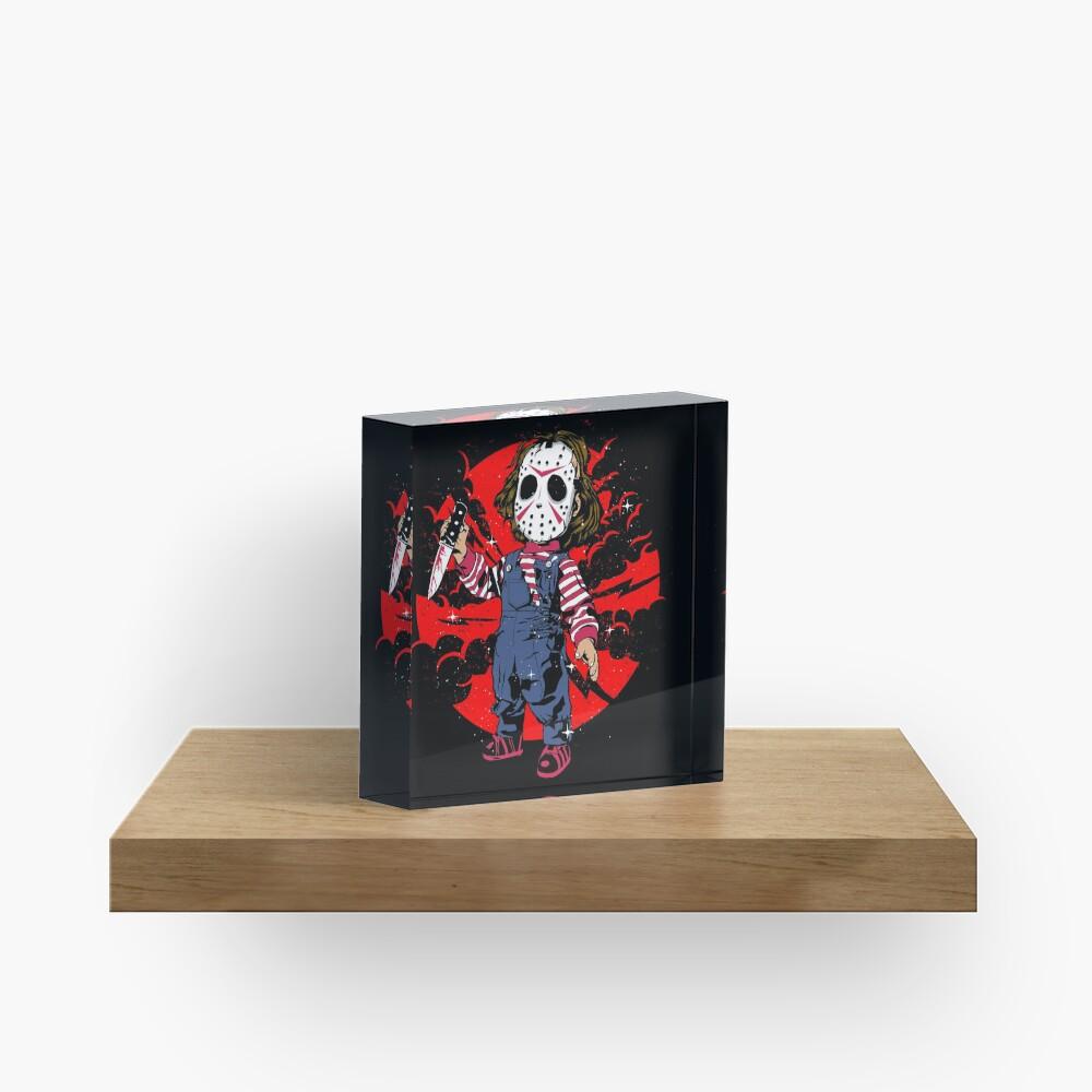 Horror Mashups: Jason & Chucky Acrylic Block