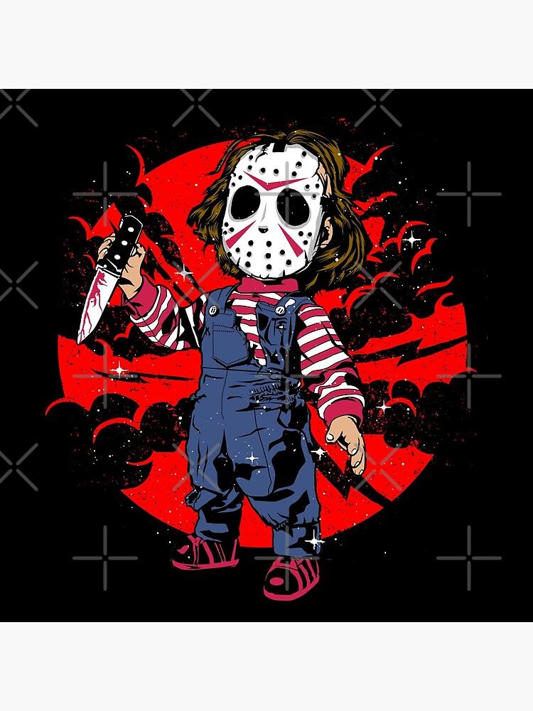 Horror Mashups: Jason & Chucky by EnforcerDesigns