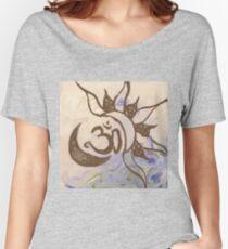 Celestial Om - Swirl Women's Relaxed Fit T-Shirt