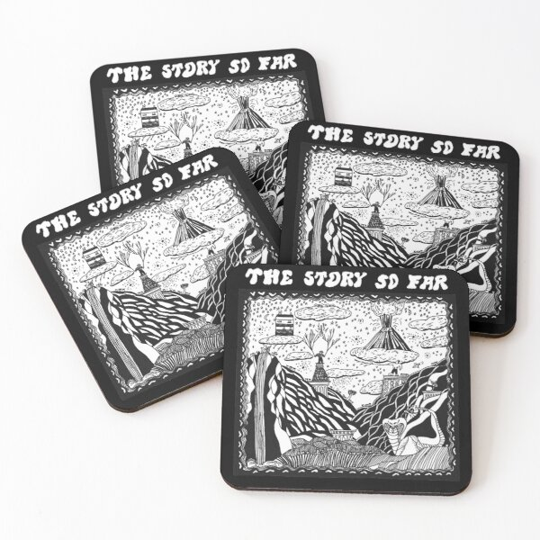 The Modern Story Coasters (Set of 4)