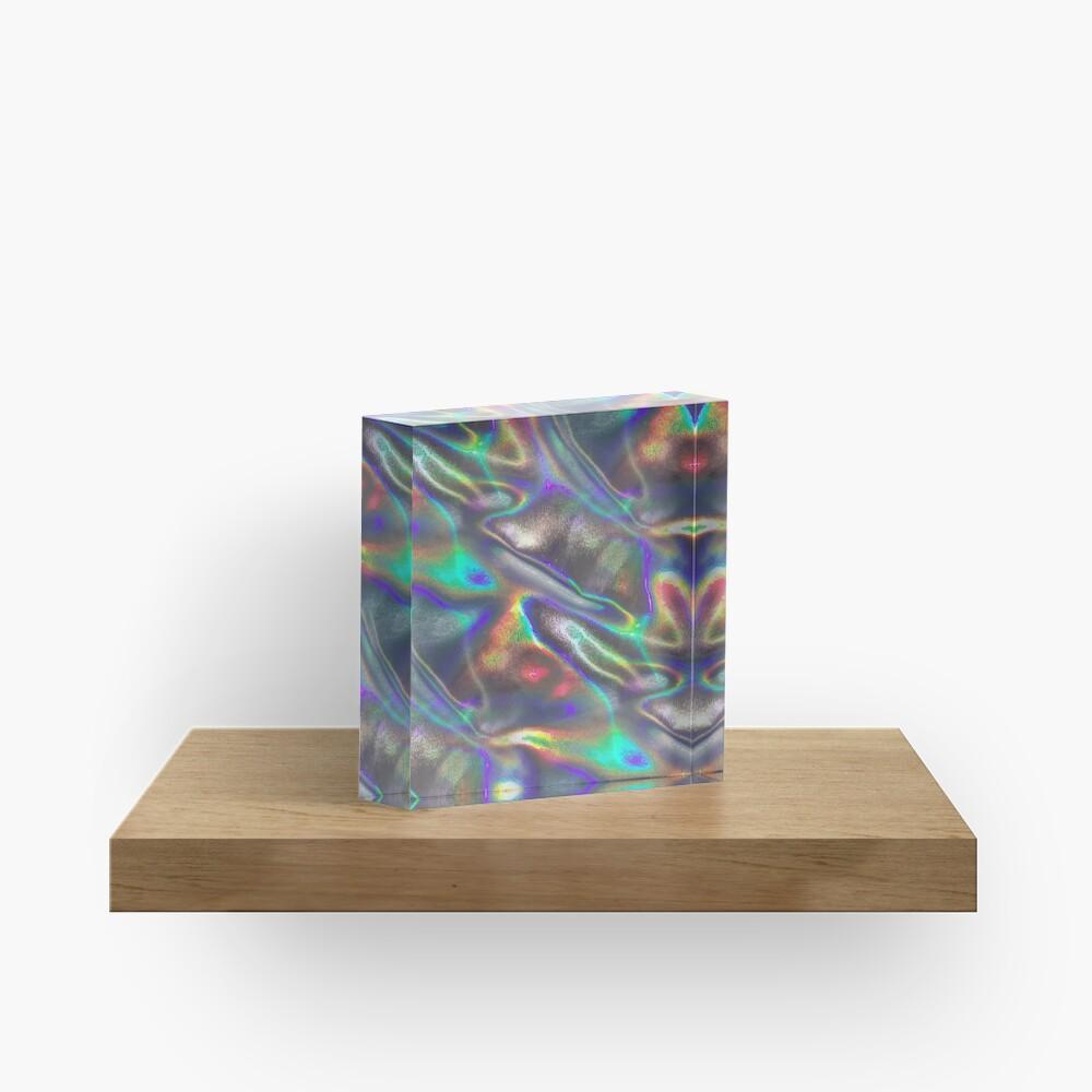 holographic print Acrylic Block