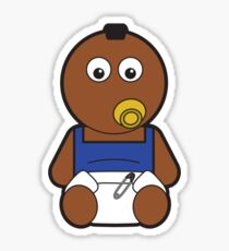 Baby Mr T Icon Sticker