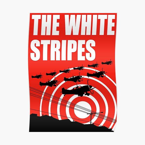 white planes the stripes tour 2019 2020 bermakna Poster