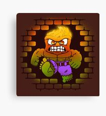 DONT MAKE HIM ANGRY Canvas Print