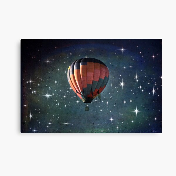 Off To Another Galaxy Canvas Print