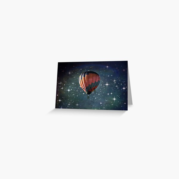 Off To Another Galaxy Greeting Card