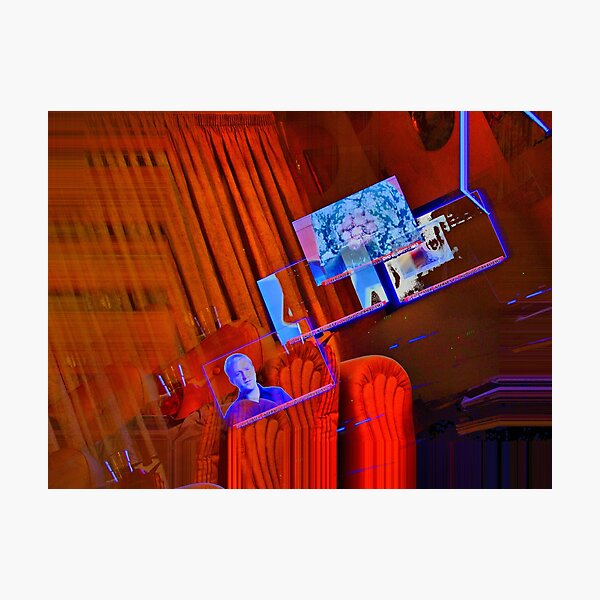 SKY television Photographic Print