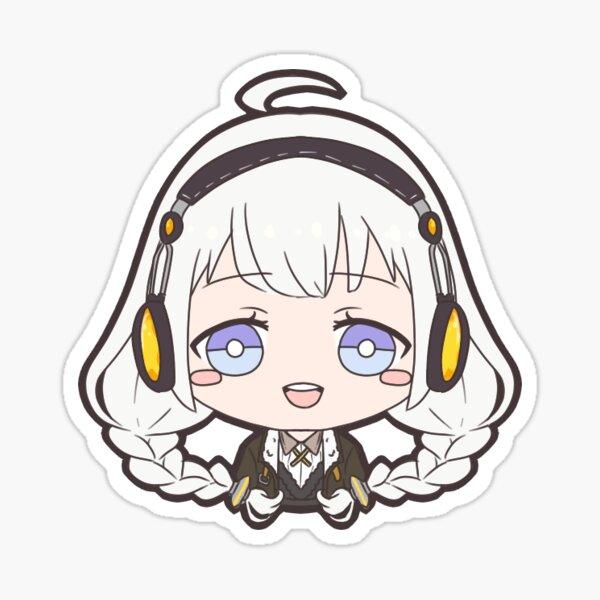 Vocaloid Kizuna Akari Sticker