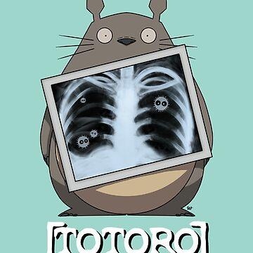 Scrubs Totoro by crabro