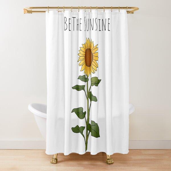 Be The Sunshine - Large Shower Curtain