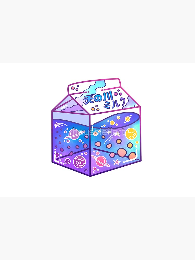 Milky Way Milk Carton by heysoleilart