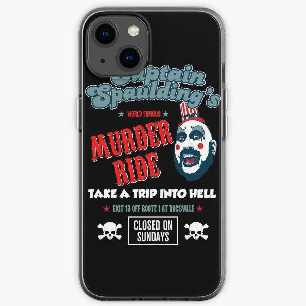Captain Spaulding Devils Rejects Murder Ride Sid Haig RIP iPhone Soft Case