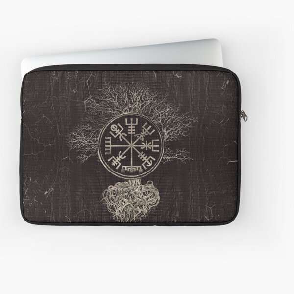 VALHALLA THOR HAMMER Coin Compass Good Luck  Runes Runic Pagan silver